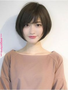 52 Beautiful Teen With Short Hairstyle That Can To Try Staying beautiful is a comprehensive package your physical look and body gestures bring along. If you've got thin hair, then […] Asian Short Hair, Girl Short Hair, Short Hair Cuts, Cute Hairstyles For Short Hair, Hairstyles Haircuts, Korean Hairstyles, Long Hairstyle, Girl Haircuts, Medium Hair Styles