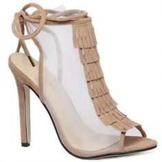 Peep Toe Design Sandals For Women