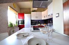 Kuchnia w mieszkaniu.
