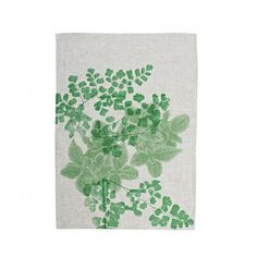 Bonnie & Neil - Tablecloth Fittonia Green | Collected by LeeAnn Yare