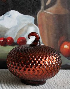 Glass Art Pumpkin. Hand Blown Glass Pumpkin by AnythingDiscovered