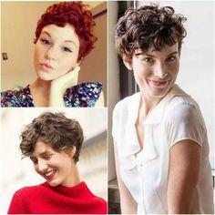 Pixie Cut: 19 Inspirações do corte em cabelos cacheados e ondulados