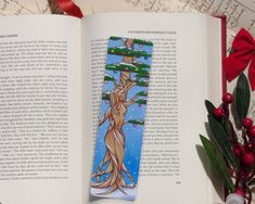 Excited to share this item from my #etsy shop: Winter Tree Bookmark, Tree Nymph Bookmark, Pine Tree Nymph, Christmas Tree Bookmark, Tree Spirit, Reading Gifts Gifts For Readers, Altered Images, Winter Trees, Pine Tree, Nymph, Bookmarks, My Etsy Shop, Spirit, Christmas Tree