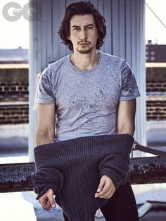 Adam Driver urbanite darkness dominates the British GQ - Male Fashion Trends Kylo Ren Adam Driver, Gq Style, George Michael, Reylo, Gorgeous Men, Beautiful People, Beautiful Boys, Pretty Boys, Pretty People