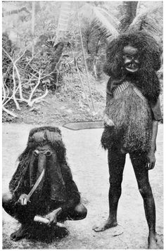 Masked Members of the Egbo Society