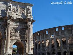 Arco de Constantino, Roma.