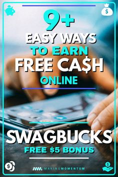 Are you looking for ways to make money from your phone or make money from home? Digital rewards platforms like Swagbucks pay cash (or gift cards) to people just like you. Check out this Swagbucks review to learn about the 9  ways you can earn money and if Swagbucks is worth it for you! #makemoney #makemoneyonline #makemoneyfromhome #DIYjobs