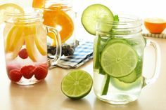 Who says H2O needs to be boring?! Whether you're looking for detox water for clear skin, detox water for acne, detox water for weight loss, detox water for bloating, or detox water for a flat tummy, there are HEAPS of homemade detox water recipes you can make using ingredients from your pantry. Check out 15 of our faves and drink your way to gorgeous skin and your flattest tummy yet!