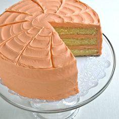 Layered Cakes   Orange Layer Cake - Piece of Cake