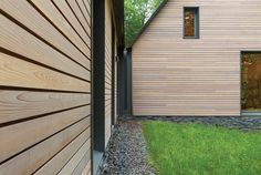 HGA Marboloro Music Cottages siding detail--no gutters