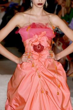 71 details photos of Christian Lacroix at Couture Fall 2005.