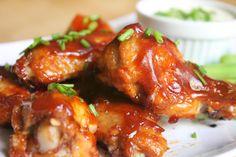 Alitas de pollo barbacoa. Receta fácil   Cocinar en casa es facilisimo.com
