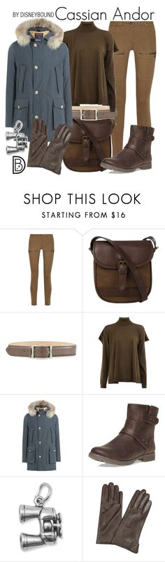 """Cassian Andor"" by leslieakay ❤ liked on Polyvore featuring Belstaff, DUBARRY, Reptile's House, Maison Margiela, Woolrich, Dorothy Perkins, BillyTheTree, Forzieri, disney and disneybound"