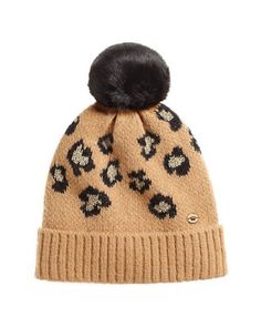 Fiercely Spotted Leopard Print Beanie | Juicy Couture
