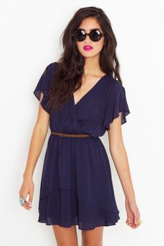 Seriously, a girl can never have too many wrap dresses. Bonus points if they have sleeves!