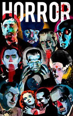 'Gallery of Horror!' #AlvaroTapiaHidalgo
