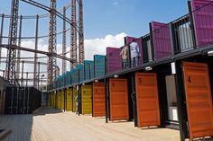 ContainerVille, London, 2014 - Kyson