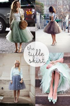 Trend Report // The Tulle Skirt