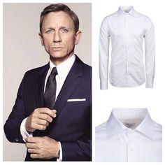 Dress Up Like Bond  zum Beispiel mit diesem weißen Stenströms Hemd (Artikel-Nr.: sten-7027711467000-000-n-38) (linkes Bild by dandy_gentlemen via Pinterest) #stenströms #bond #jamesbond #007 #white #shirt #whiteshirt #onlineshop #startup #readytowear #myhemden #munich #men #menstyle #menswear #mensfashion #fashion #fashionblogger #instagood #photooftheday #picoftheday #hemd #herrenhemd #business #style #office #work
