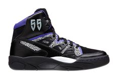 adidas Mutombo Black White Purple 07de7a7876