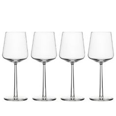 Iittala Essence Red Wine Glasses, Designed by artist alfredo haberli Pinot Noir Wine, Red Wine Glasses, Wine Time, Wines, Kitchen Dining, Kitchen Items, Dining Room, Stems, Cl