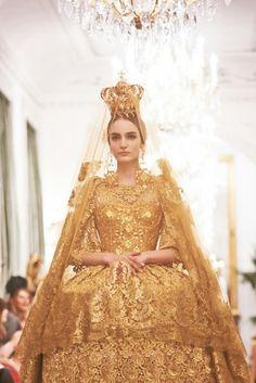 Dolce Gabbana 2013 collection. Byzantine Madonna.