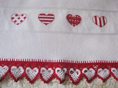 Valentine Heart Cross Stitch
