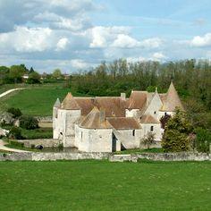 Château de Buranlure, Centre