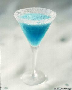 Blue Parrot 1 lime wedge Coarse salt, for rims cup tequila cup Cointreau cup blue curacao cup freshly squeezed lime juice cup superfine sugar 1 cups crushed ice Blended Margarita Recipe, Blue Margarita, Margarita Recipes, Drink Recipes, Tequila, Vodka, Party Drinks, Cocktail Drinks, Fun Drinks