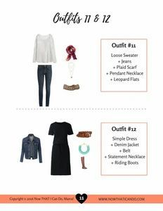 I am loving these outfit guides - they are SO helpful to put together stylish outfits without all the hassle. Totally recommend for teachers!