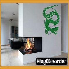 Fantasy Wall Decal - Vinyl Decal - Car Decal - CF23015