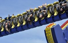 That's Me...Upper Right..Upside Down!!  Thanks to the Stanislaus County Fair Media Day!! Loved the event and the RIDE!
