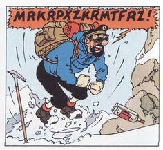 Classecpce1marssac - Page de Tintin au Tibet