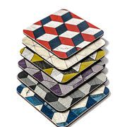 Placemats Coasters & Geometric objects by EInderDesigns on Etsy