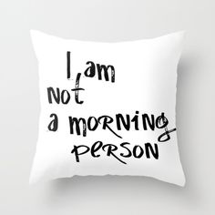Funny Pillow Cases, Funny Pillow, Throw Pillow Cover, Pillows With Words, Teen…                                                                                                                                                                                 More