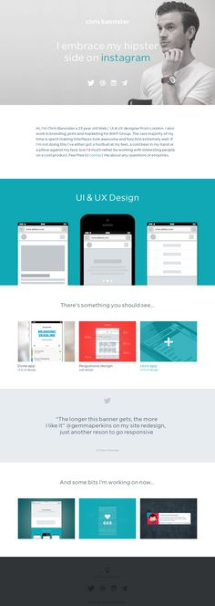 Website #design #web #flat