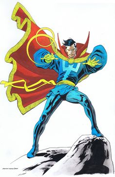 Doctor Strange by Kevin Nowlan