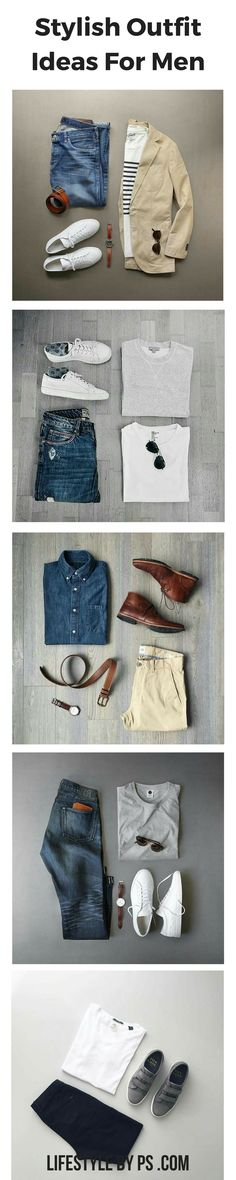 No distressing on jeans, and not sure yet about white sneakers or striped shirt. Otherwise like all except last outfit