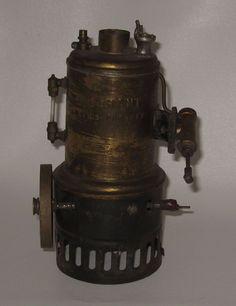 Early 1900's Weeden Steam Engine No 20 Big Giant Brass Boiler #BP48