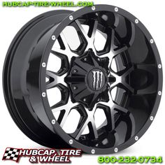 Monster Energy 645MB Wheels & Rims. FREE Shipping!