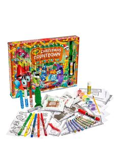 Crayola Christmas Advent Calendar | very.co.uk
