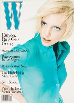 Cover - Best Cover Magazine - One of my favorite models of the Nadja Auermann on the cover of W Ma. Best Cover Magazine : – Picture : – Description One of my favorite models of the Nadja Auermann on the cover of W Magazine April 1995 -Read More – Nadja Auermann, V Magazine, Magazine Covers, Claudia Schiffer, Julia Roberts, Cindy Crawford, Spice Girls, Top Models, Cosmopolitan