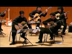 Beautiful performance Bach Brandenburg No. 6 -. by the The Pacific Guitar Ensemble everybody will love this performance