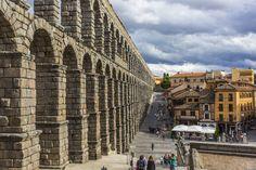 Segovia, Spain  - Roman aqueduct