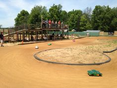 pit products visits sandpit RC radio controlled car racing track in jonesville, michigan