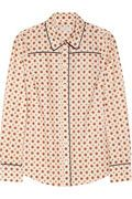 J. CREW Foulard-print cotton-poplin shirt
