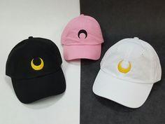 Sailor Moon Luna / Artemis / Black Lady Cap by screensnthread