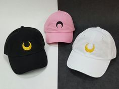 Luna / Artemis / Black Lady / Chibiusa inspired cap  adjustable strap for a perfect fit