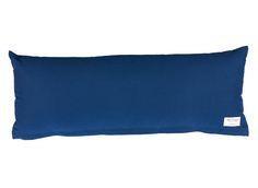 Das Kissen ist perfekt für das Spielbett.Jersey (grau/weiß oder blau/weiß)oder Canvas-Baumwolle (hellblau, dunkelblau oder rosa). L.90 x B.33 cm