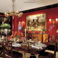 Luminous Interiors: The Houses of Brian McCarthy Traditional Dining Rooms, Traditional Decor, Old World Decorating, Interior Decorating, Wood Crown Molding, Monochromatic Room, English Interior, British Colonial Style, Famous Interior Designers